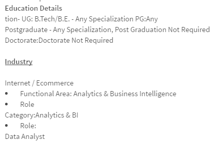 Can I get a job as a data analyst or data scientist at the