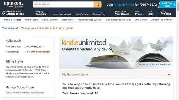 Is Kindle Unlimited a good deal? - Quora