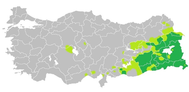 What are the kurdish majority provinces in turkey Quora