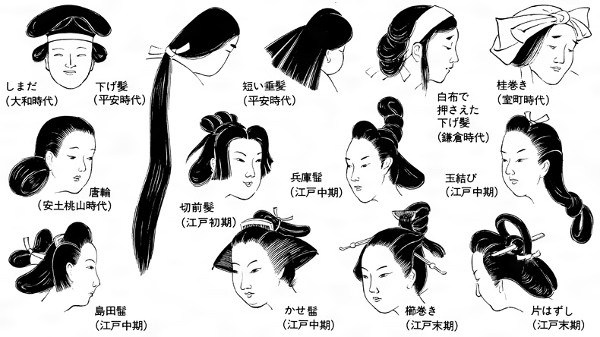 What Hairstyle Would Women Aged 16 20 Wear In The Japanese