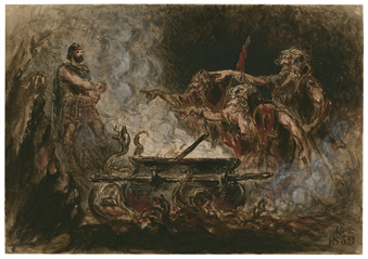 three apparitions in macbeth meaning