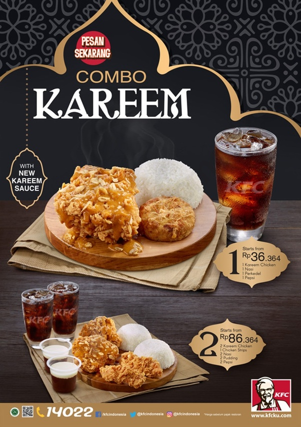 Is there any Ramadan special menus on KFC at your country ...