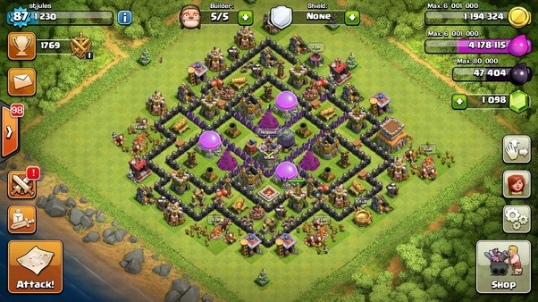 what is the best way to build my walls in clash of clans quora