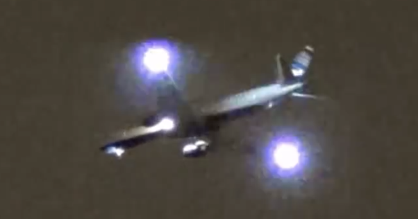 Why do some airplanes when flying have blinking lights and other