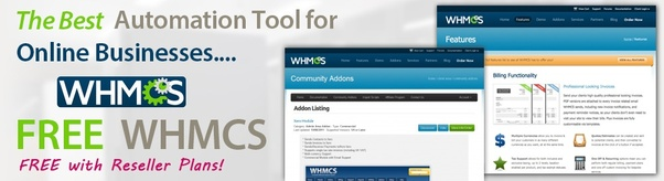 Do I get free WHMCS with MilesWeb unlimited reseller hosting