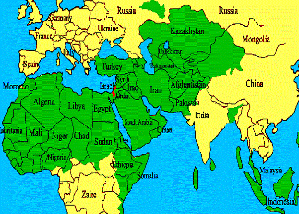 Why isnt the Middle East a separate continent It is very much