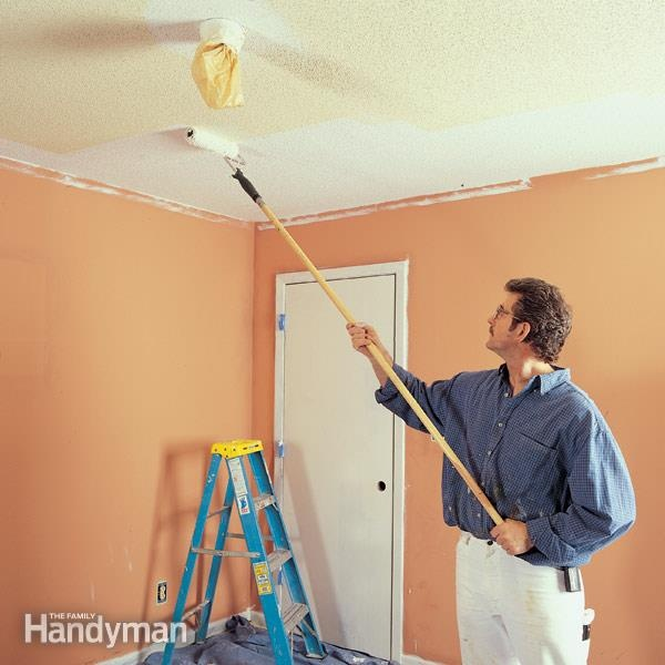 Can I Paint The Ceiling And Walls At