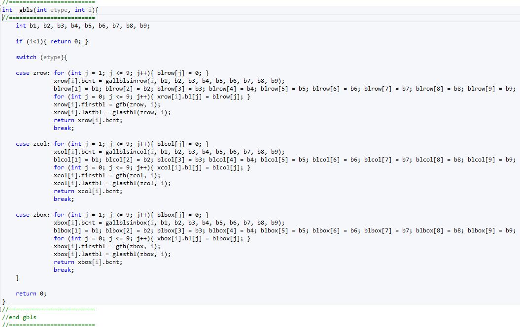 How can a sudoku solving program be broken down? - Quora