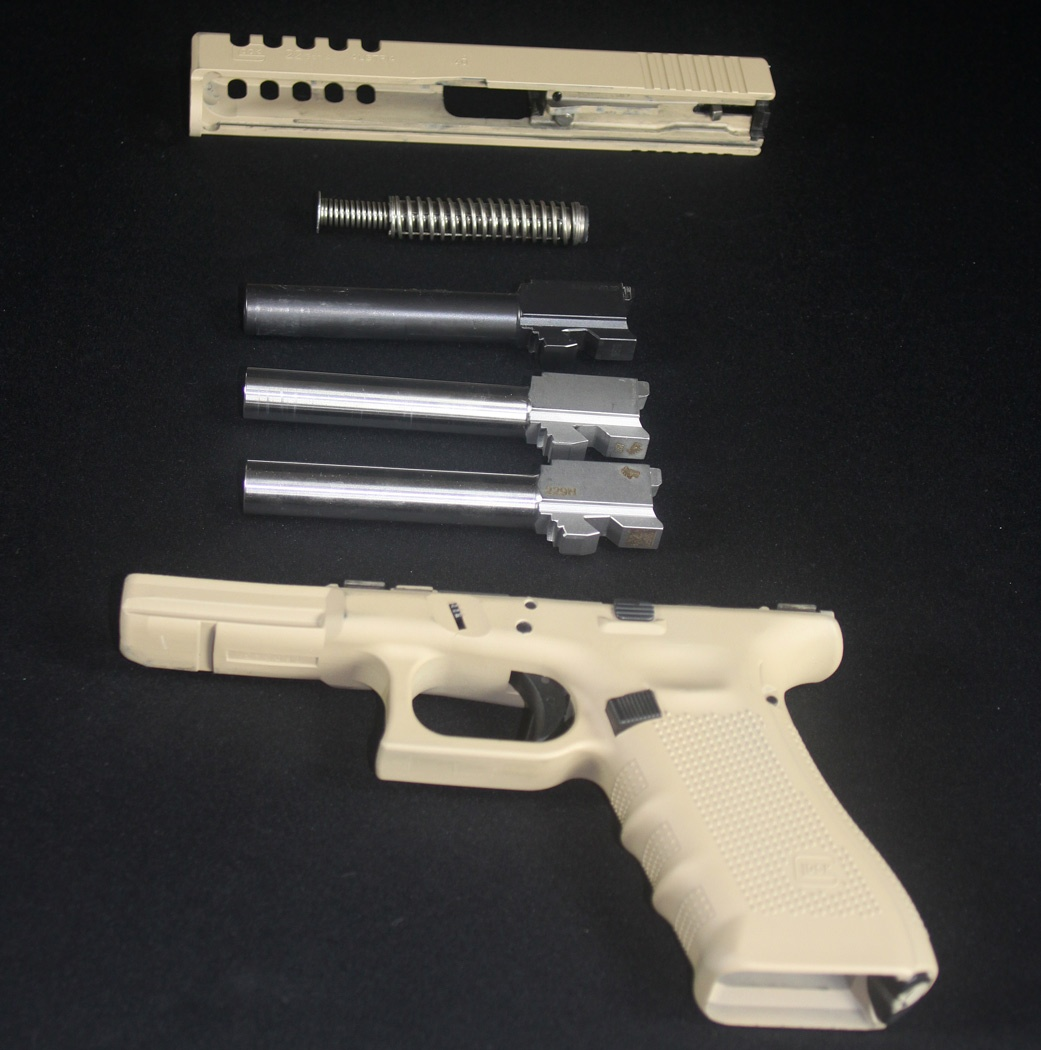 Would You Rather Carry A Glock 22 40 S W Or A Glock 17 9mm Quora