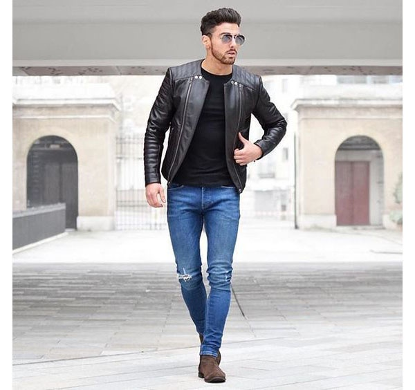 how to style a black shirt and blue jeans  quora