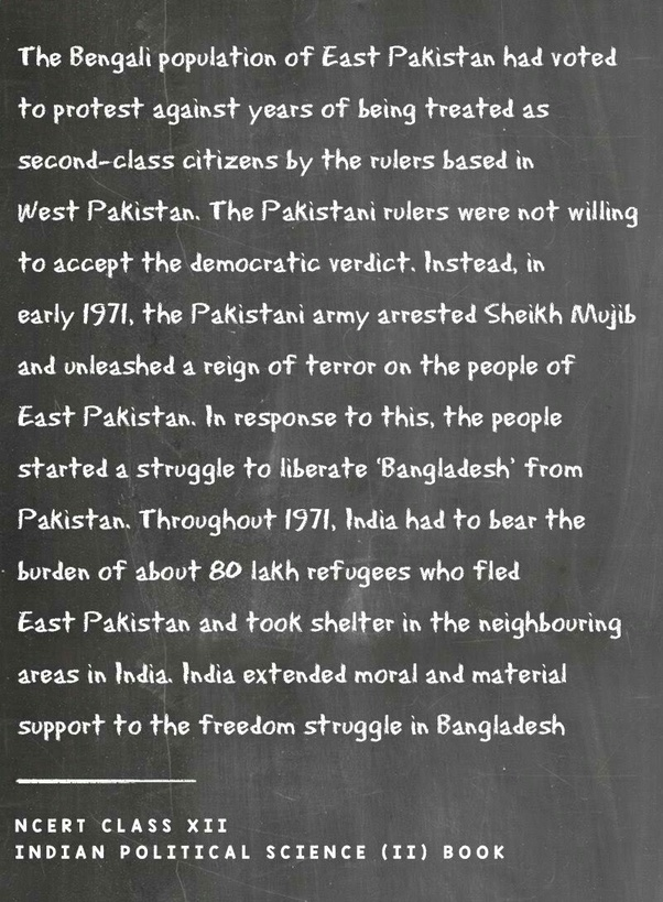 How much do pakistani school history textbooks differ from those in 4 the indo pakistani war of 1971 fandeluxe Choice Image