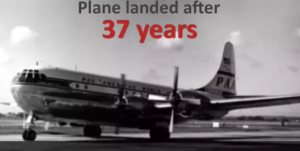 Image result for mysterious plane landed after 37 years