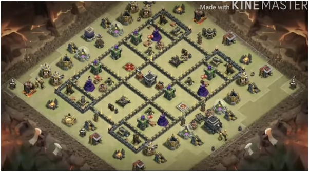 Anti Everything Best Th9 War Base 2