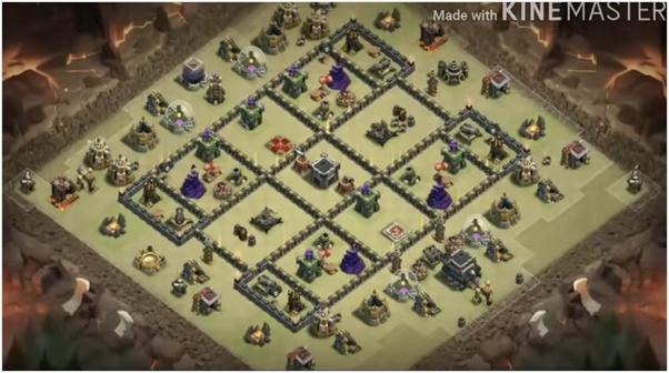 Anti Everything Best Th9 War Base 2