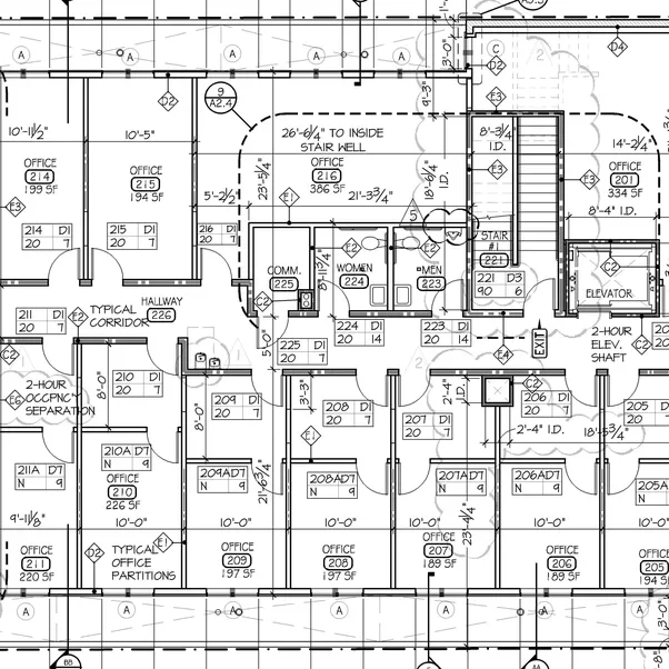 How to read architect 39 s drawings quora for How to read blueprint measurements