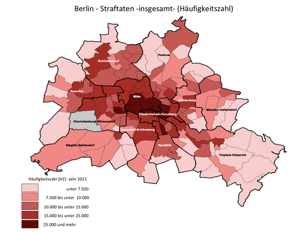 Are there areas in Berlin which are particularly dangerous/better to ...