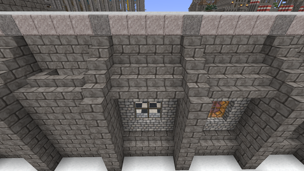 how to build a fortress in minecraft ps3