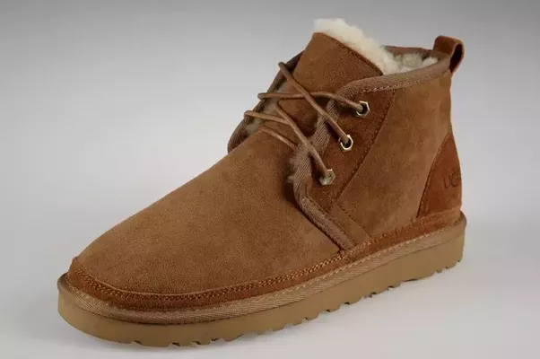 A compromise to the traditional Ugg would be this style with a more refined masculine look: