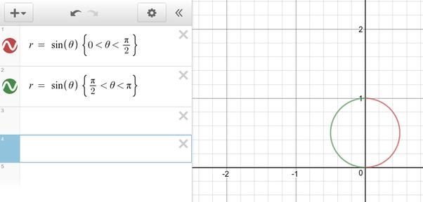 desmos graphing calculator polar