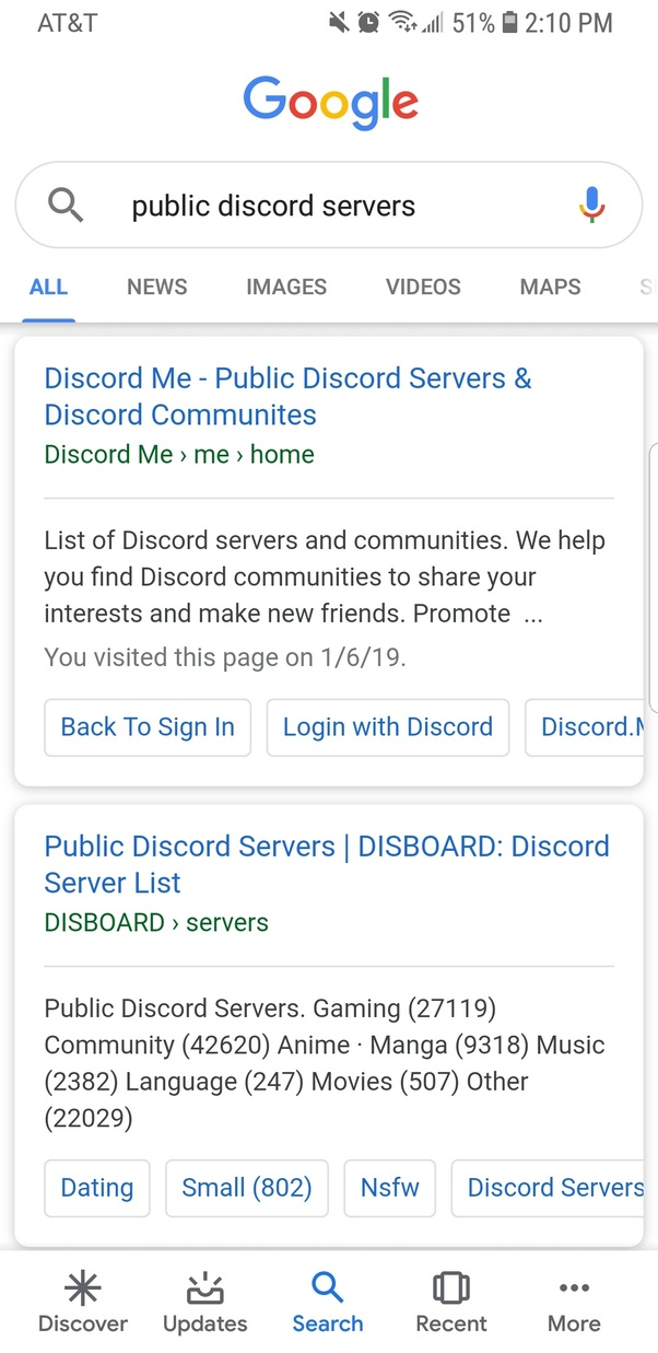 Where can you search for Discord servers? - Quora