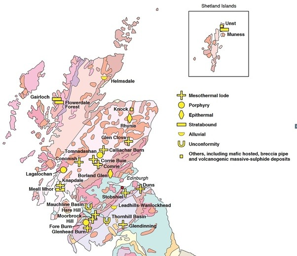 Where should i look for gold in scotland quora here is a map taken from the british geological survey map of gold deposits in scotland at httpbgsdownloadsd gumiabroncs Images