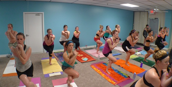 how many calories burned for hot yoga