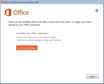 activation instructionsexample of office 2013