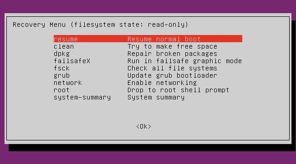solved my linux ubuntu installation was interrupted midway now i