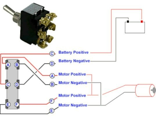if you want to connect two dc motor , only change the common polarity  connection into two part and make connection seperately