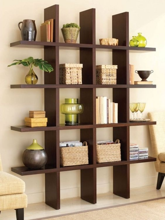 Built In Bookshelf Decorating Ideas