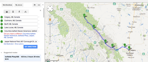 What Is A Good Plan For Ten Days Vacation Road Trip Between Seattle - Map my vacation route