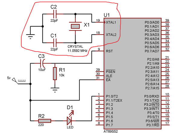 What Is The Use Of An External Crystal Oscillator In Microcontroller