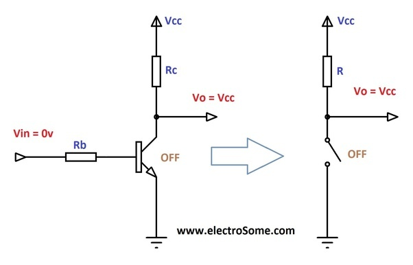 how to find vce in a transistor