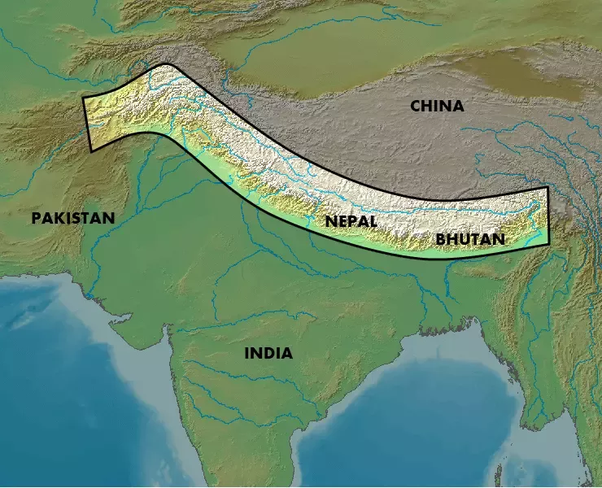 What are the 3 ranges of Himalayas? - Quora