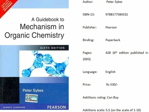 Which book can I refer to prepare organic chemistry for JEE in less