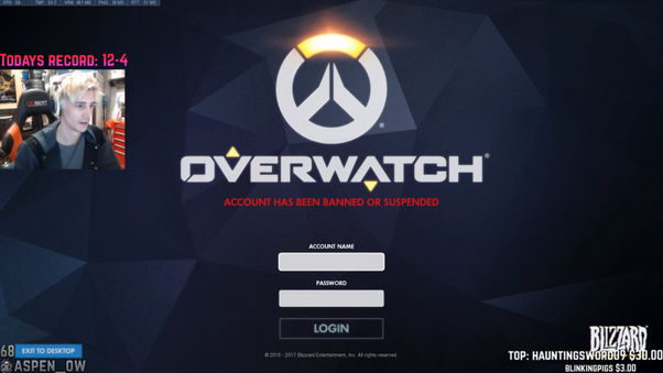 How to know if I'm banned from overwatch - Quora