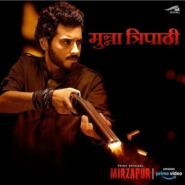 Which character did you like in Mirzapur: Guddu Tripathi or
