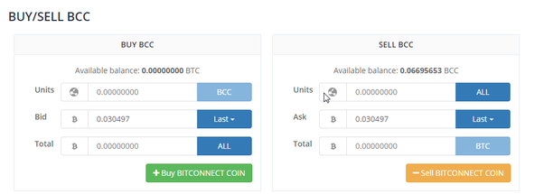 How to sell bitcoin from bitconnect quora lets say you have 100 bitconnect coins so you click exchange and then sell your coins and earn bitcoin in your wallet ccuart Choice Image