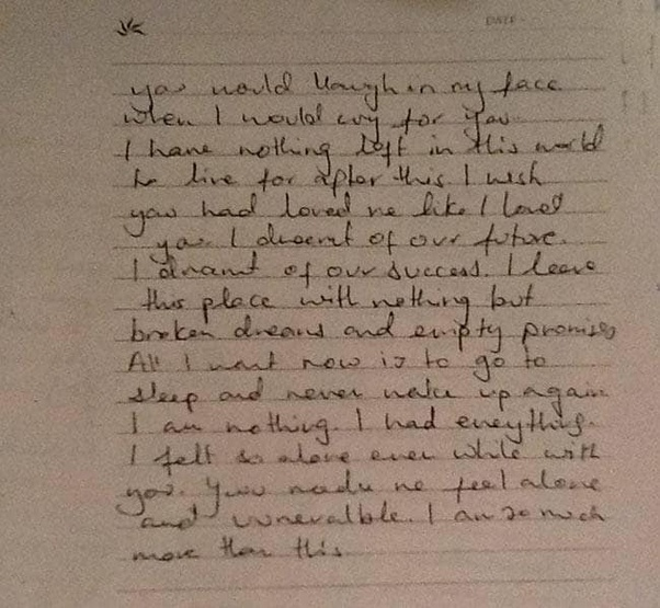 What's the most moving and touching letter you've read? - Quora