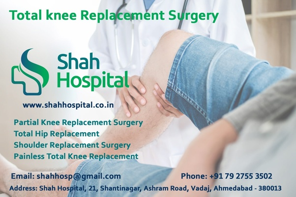 Which are the best hospitals for a knee replacement surgery