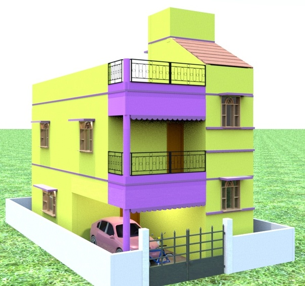 I Want To Built A Duplex House Can Anyone Send A Model