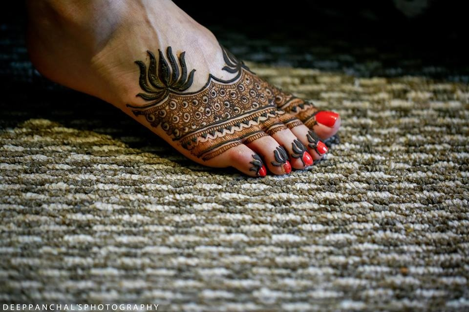 Which Are The Best Bridal Mehendi Designs And Ideas For Feet Quora