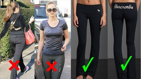 What are the risks of wearing leggings without underwear ...
