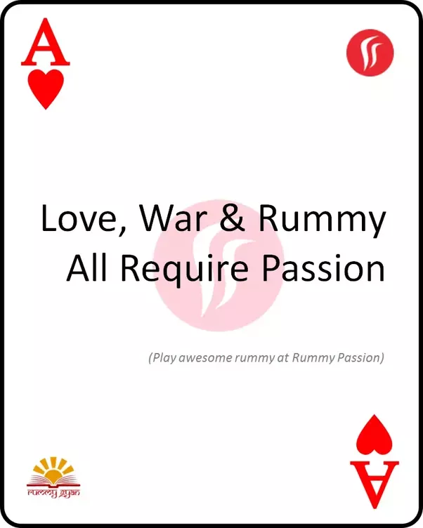 Quotes About Play Magnificent What Are The Best Quotes About Rummycard Gamesjoker Cardplaying