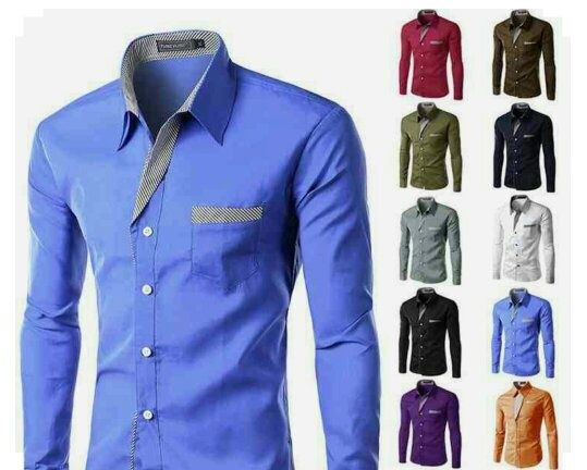 so you are fair thin and 55you got to wear solid color shirts shown in the below image
