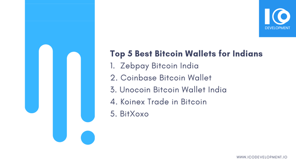 Online cryptocurrency wallet india