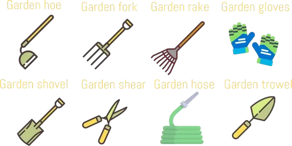 ... Shears; Garden Hose; Gloves