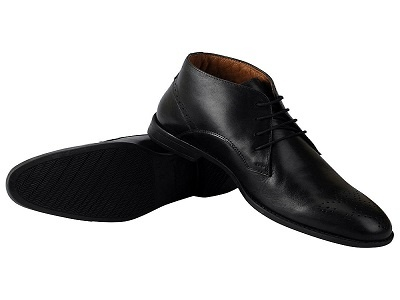 3ed89b9e8bfe86 To Buy  Hush Puppies Men s Black Leather Brogue Shoes (11 UK)  Buy Online  at Low Prices in India