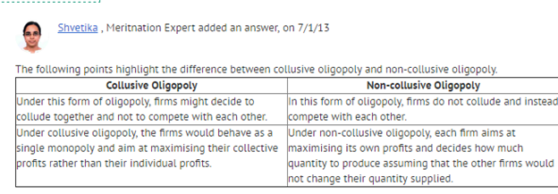 price rigidity under oligopoly