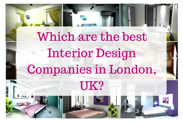 Which are the best interior design companies in london uk for Design companies london